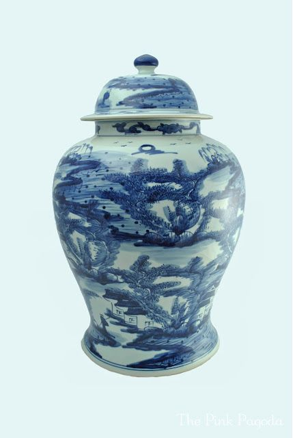 Giveaway @ The Pink Pagoda: White Mondays, Gingers Jars, Beautiful Blue, Pink Pagoda, Blue Antiques, Mondays Outdoor, Chinoiserie Chic, Canton Gingers, Blue And White