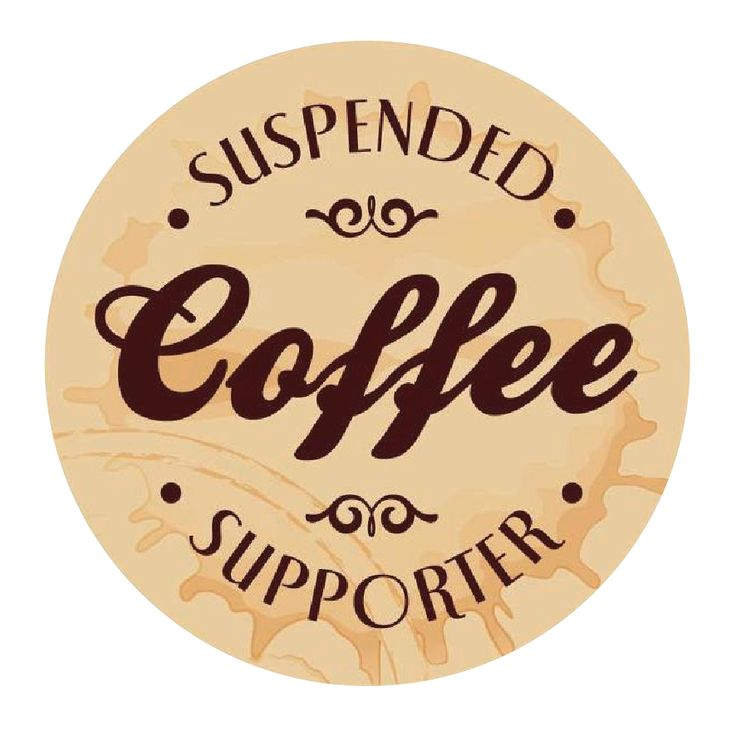 suspended coffees - Every once in a while an idea comes along with the potential to truly make the world a better place. Suspended Coffee is one of those ideas.