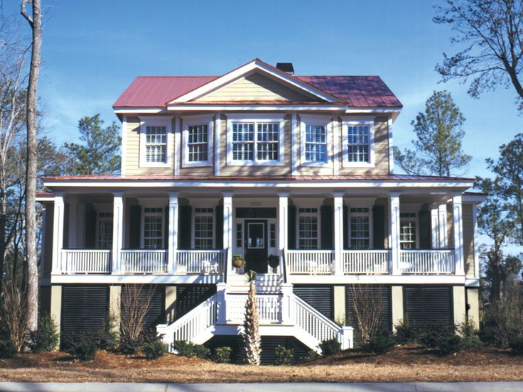 111 best low country french creole home plans images on for Low country home designs