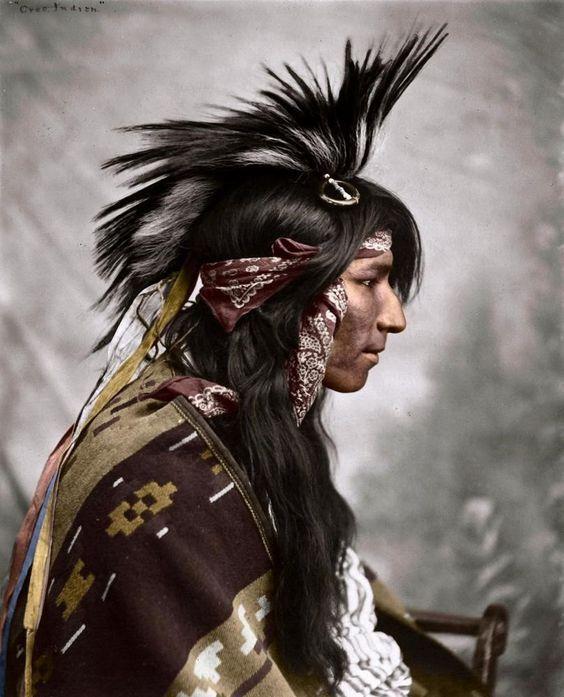 CREE MAN , 1903