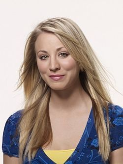 Kaley Cuoco - AKA Penny from The Big Bang Theory but no one Wouk remember her from 8 simple rules