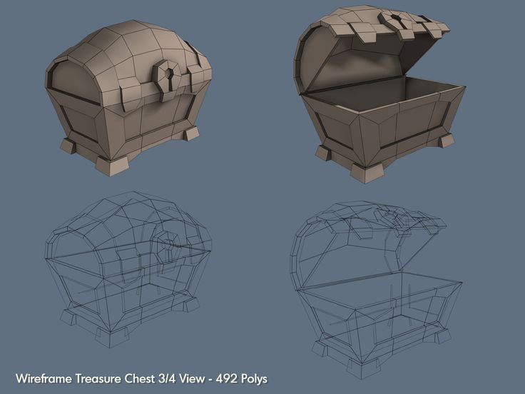 Google Image Result for http://4.bp.blogspot.com/_a1tBpa3lJSo/S_7ad-qMGnI/AAAAAAAAAHc/ZgMOWqJ-vO4/s1600/game_01.jpg A low poly Chest game model - I took this pin for a reference image in the future, not to mention I like the bulky design of the chest.