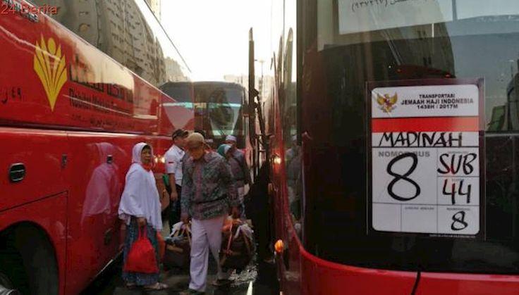 Jemaah Haji Gelombang Dua Mulai Didorong ke Madinah