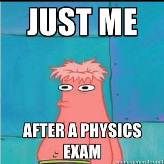 Post exam status!