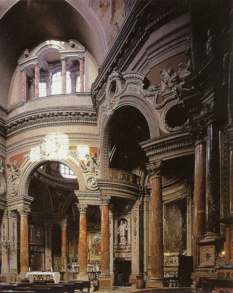 San Lorenzo, Turin, Guarino Guarini, 1668 - 87.