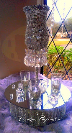 Wedding Bling and Crystal Chandelier by FashionProposals on Etsy, $55.00