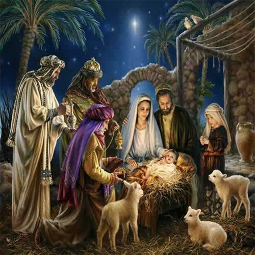 Imagenes bien bonitas de los reyes magos con - Postales de navidad bonitas ...