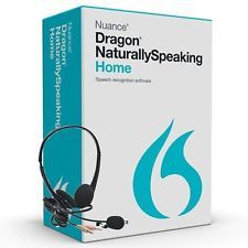 NEW - Dragon Naturally Speaking 13 Home Speech Recognition w/ Headset Mic FREE!