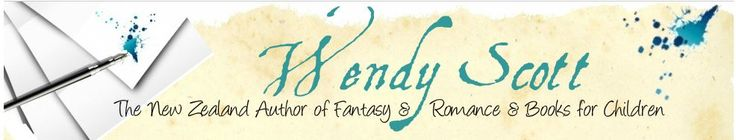 Fantasy Author Wendy Scott  Sign up newsletter http://www.wendyjscott.com/contact.html