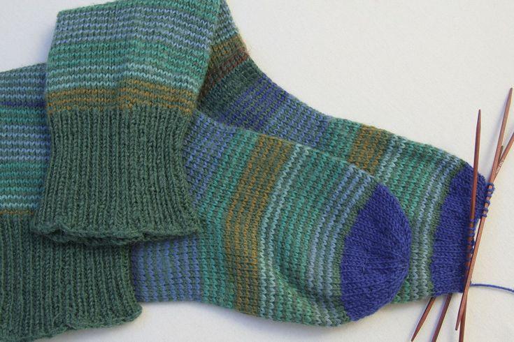 Een gat in de teen van je zelfgebreide sok? Geen paniek, je kunt gewoon een nieuwe teen aan je sok breien.