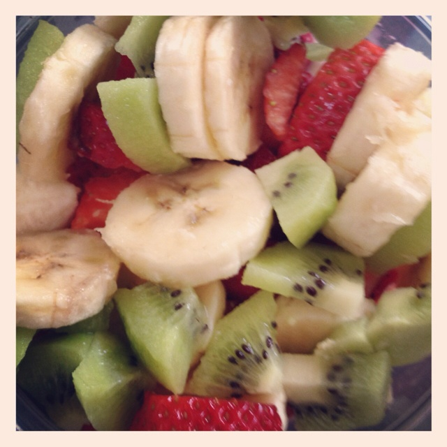 Fruits with cottage cheese | Doing My Body Good | Pinterest