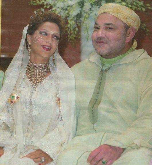 Lalla Soukaina et le Roi Mohammed VI