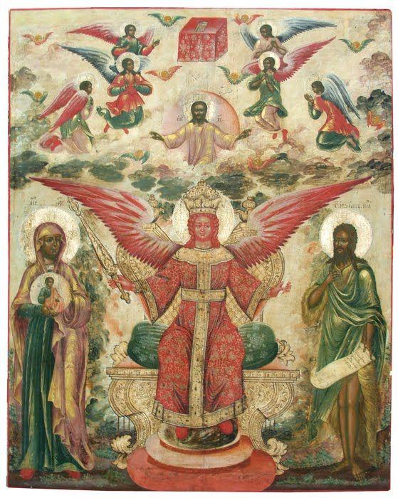 MYSTAGOGY: The Icon of Sophia, the Wisdom of God of Kiev