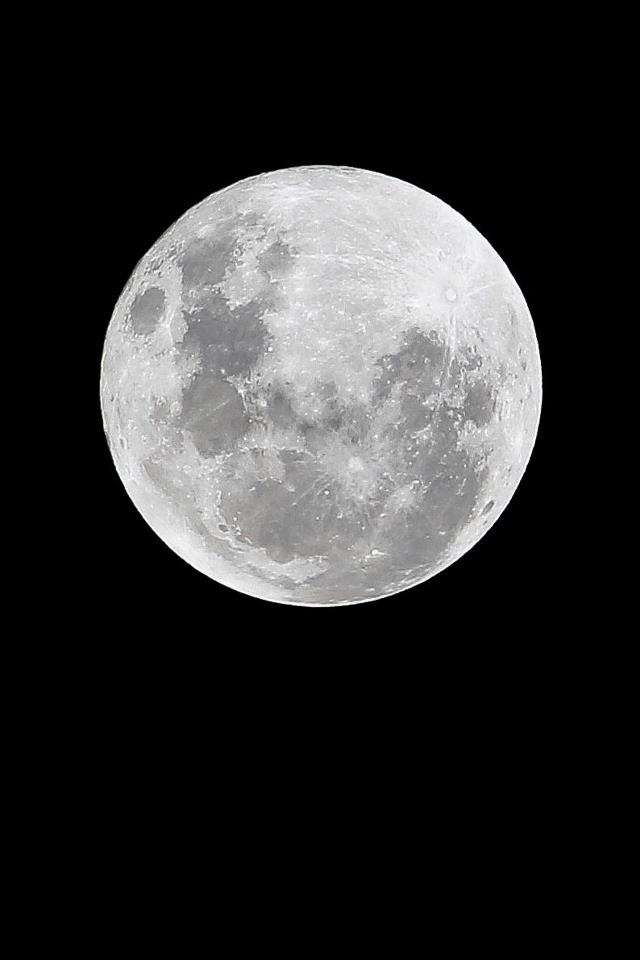 Super Moon. Sydney, NSW, Australia. Photo: Jonathan Gardiner