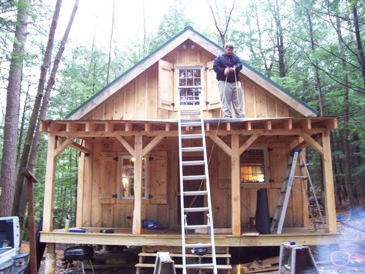 69 best tiny cabin ideas images on pinterest log houses for 20x24 cabin plans