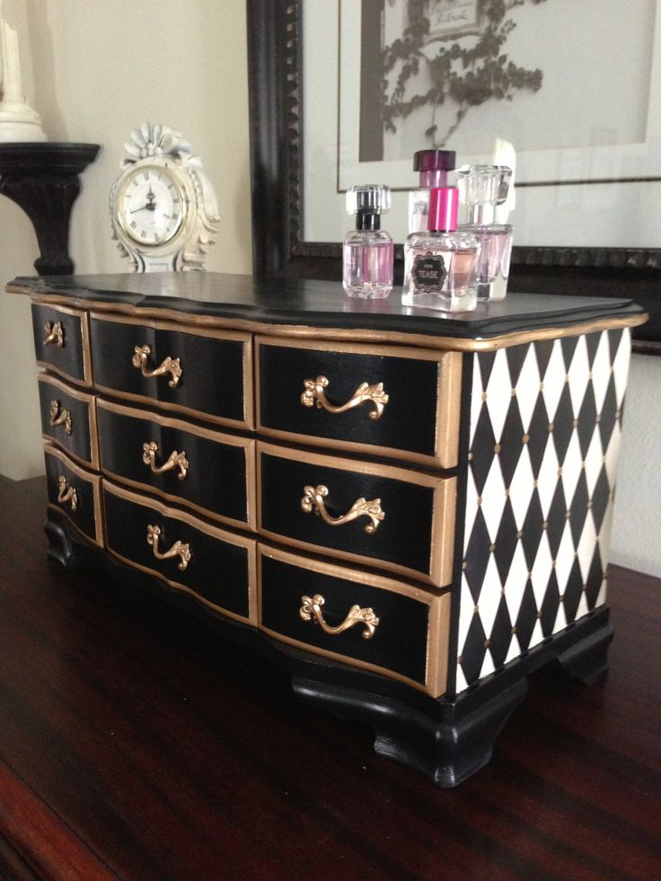 Black Antique Furniture best 25+ gold painted furniture ideas on pinterest | gold dipped