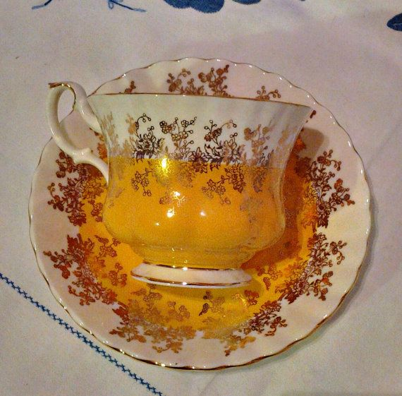 Royal Albert Bone China Vintage Tea Cup by WoodsHarbourTeaRoom