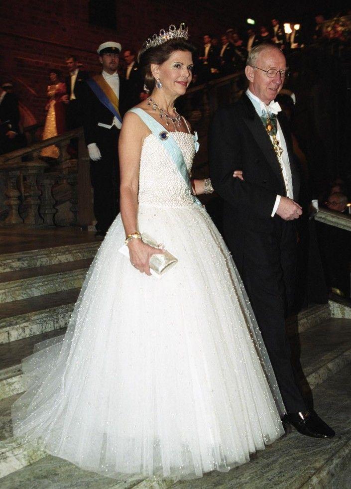 Drottning Silvia, Nobel 2001.