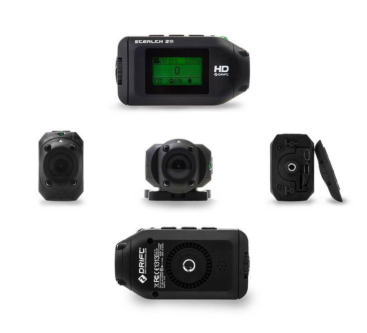 ¿No conoces bien la #cámara mas pequeña y liviana del mercado? Conoce desde todos los ángulos la #DriftStealth2. #SmallCameraBigWorld!