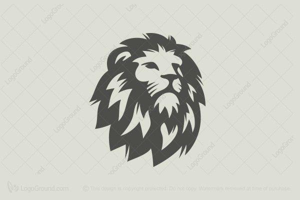 Logo for sale: Lion Head Logo
