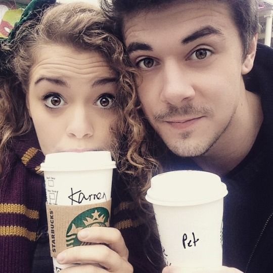 Carrie Hope Fletcher and petesjams