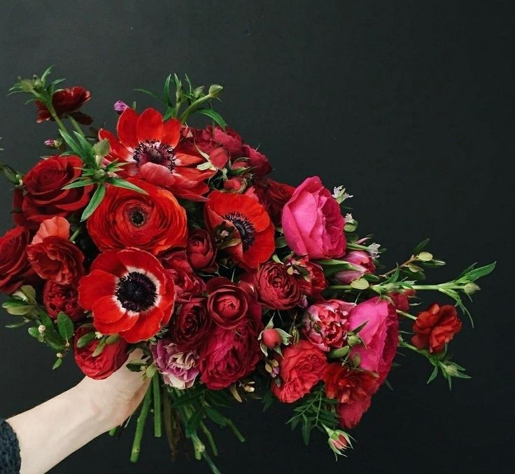 Red Garden Rose Bouquet 410 best **the bouquet** | ((reds&pinks&purples)) images on