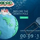 With NORAD's Santa tracker, you and your family can follow along as Santa visits homes around the world.