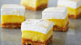 Lemon Meringue Squares   Bake With Anna Olson