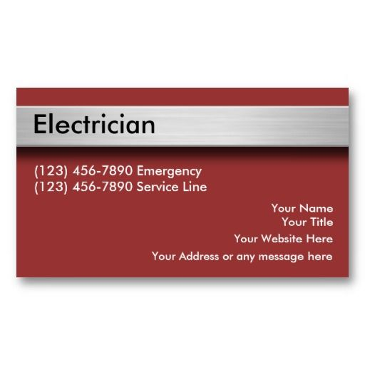 20 best design your own business card online images on pinterest electrician business cards colourmoves
