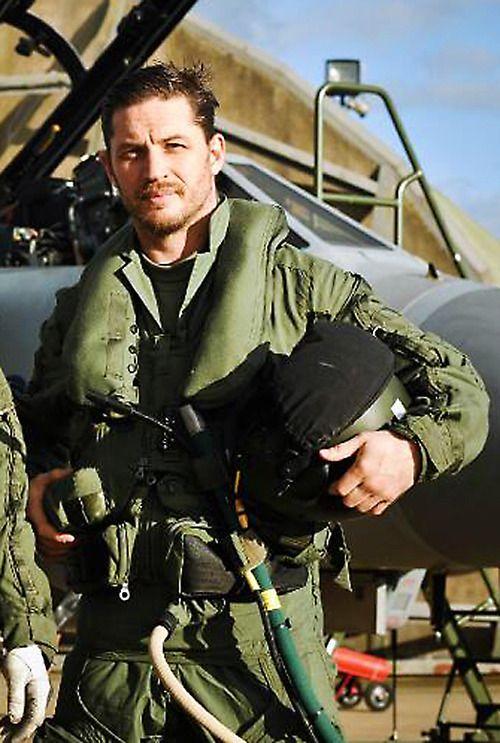 Tom Hardy  ♥ fighter jet pilot fantasy come true