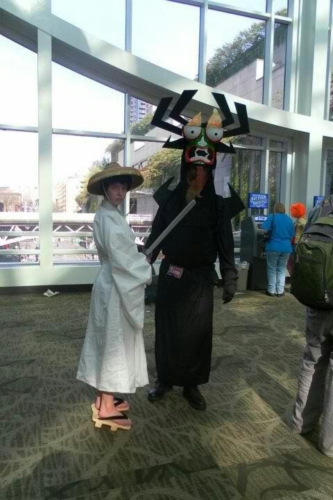 how to make a samurai jack costume