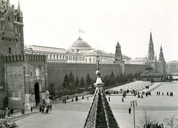Красная площадь, 1950-е 1950-01-01 - 1959-12-31, г. Москва