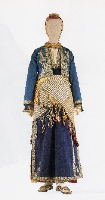 Ενδυμασία από την Καππαδοκία - Γιορτινή φορεσιά του 19ου αι.. Αρ. κατ. 6575