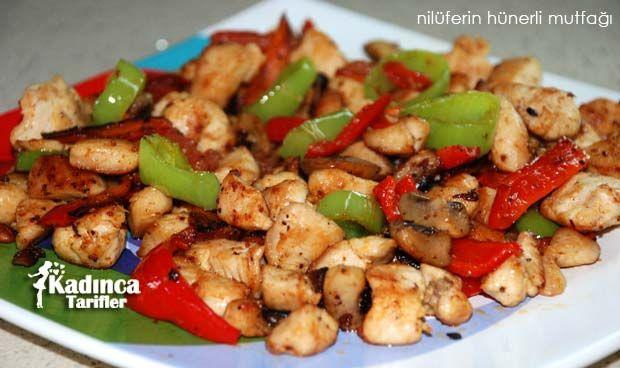 Sebzeli Tavuk Sote Tarifi nasıl yapılır? Sebzeli Tavuk Sote Tarifi'nin malzemeleri, resimli anlatımı ve yapılışı için tıklayın. Yazar: Nilüferin Hünerli Mutfağı
