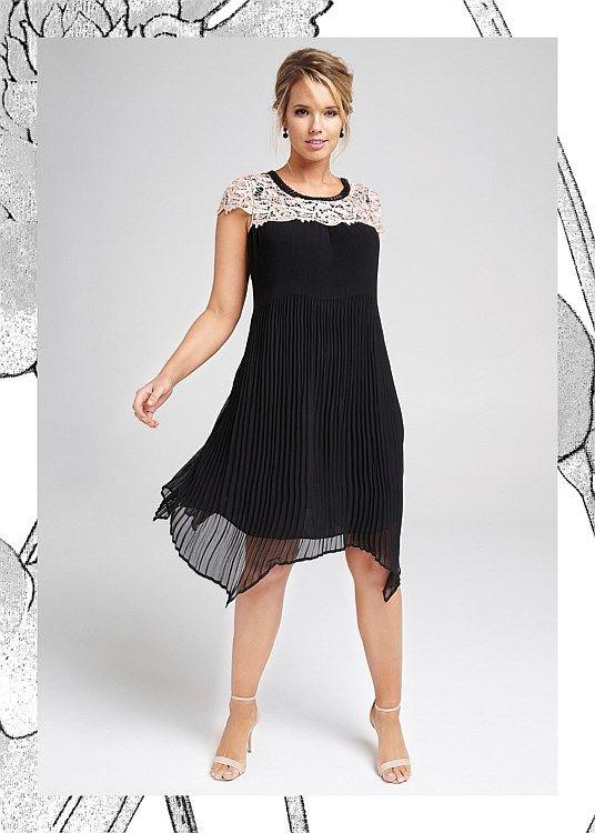 Dynasty Trapeze Dress #takingshape #plussize #curvy #eventwear #eveningwear
