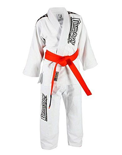 The Gameness Kids Gi the Platinum Pup.Made with the same quality cotton and stitching as the adult Gis.**Belt is not includedGameness Kids Size Chart: Height...