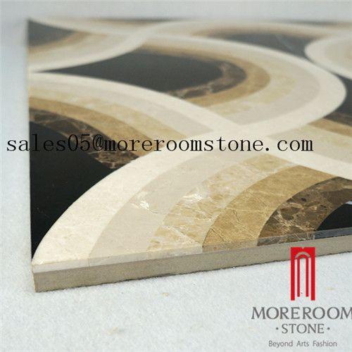 Beautiful pattern marble flooring designs laminated marble