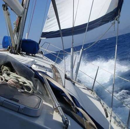 Bareboat zeiljacht huren vanaf Rhodos | Charter bareboat sailingyacht from Rhodes | Sail in Greece Rhodes | sail-in-greece.net
