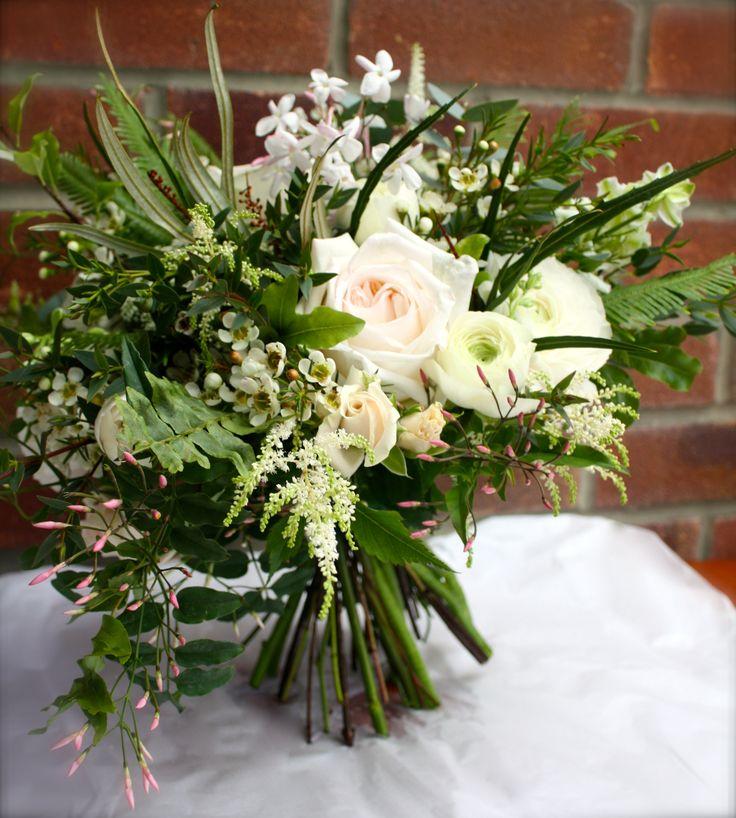 Blush pinks & white. Pretty spring bouquet.