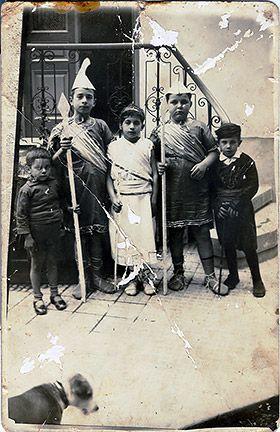 Carnival - apokries 1930 ,Heraklio Creta
