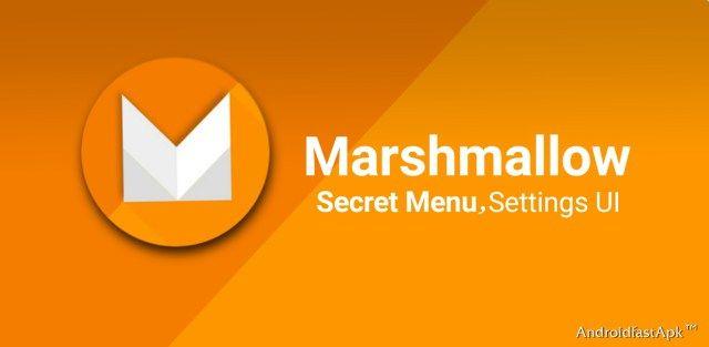 Menú secreto Configurador de IU del sistema en Marshmallow