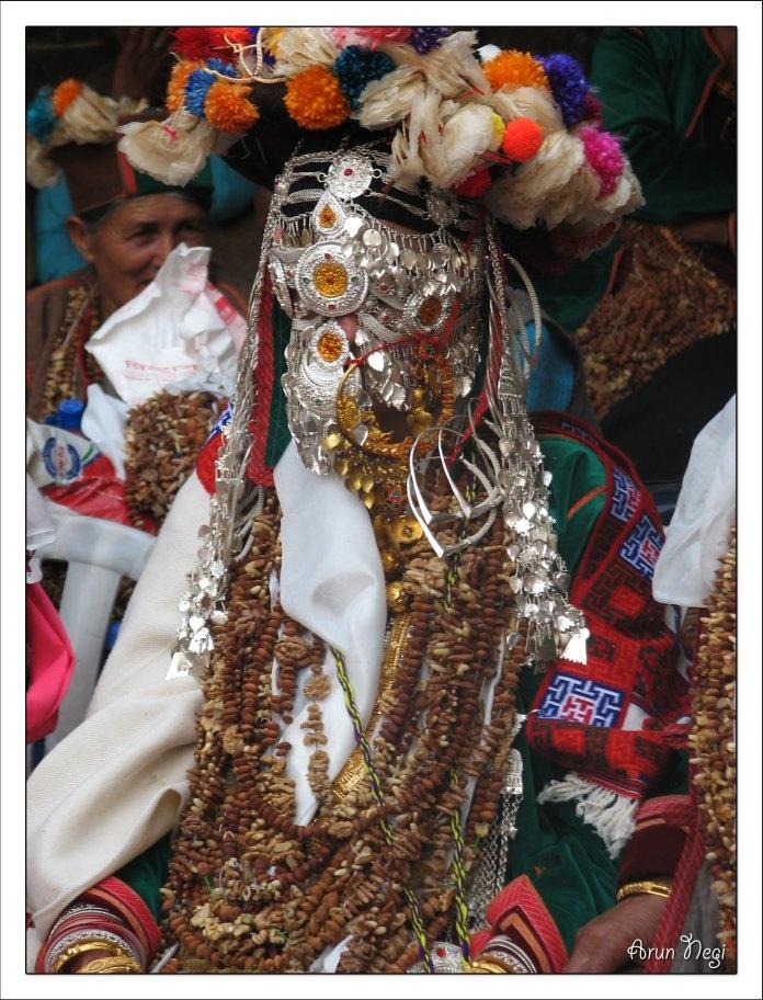 India ~ Himachal Pradesh | Kinnauri Bride | ©Arun Negi