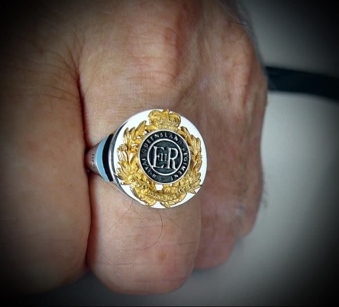 Australian Army Queensland Regiment 9 RQR Ring