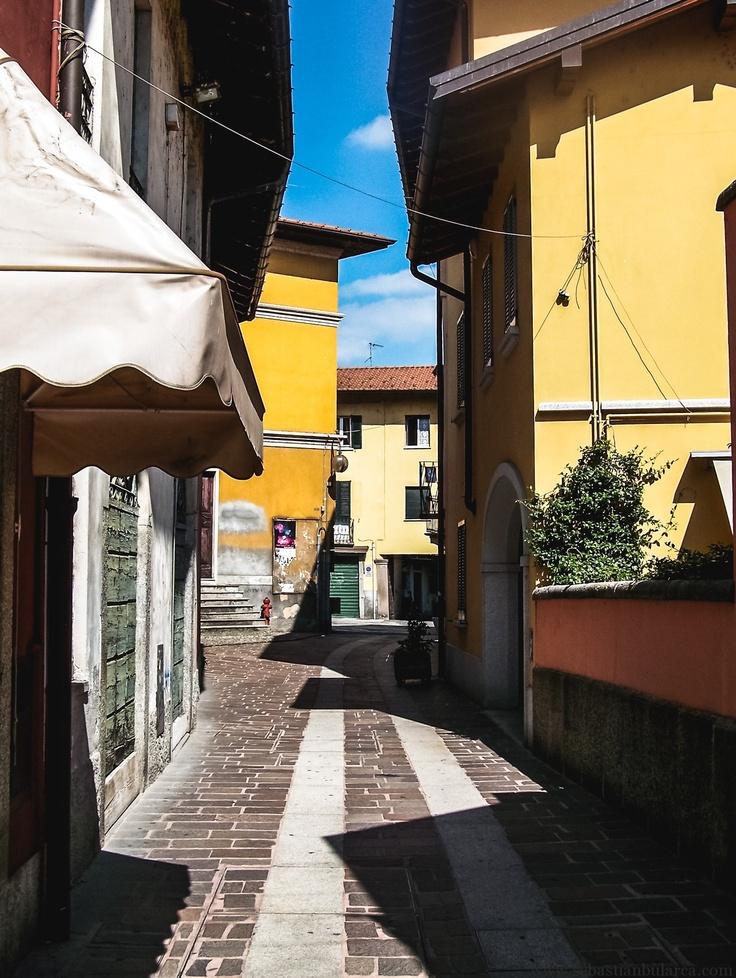 The Streets of Sesto Calende