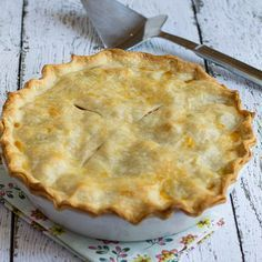 Easy Chicken Pot Pie - Spicy Southern Kitchen