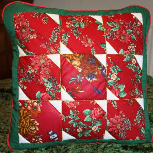Cushions - Patchwork with a Christmas Theme, £12.50