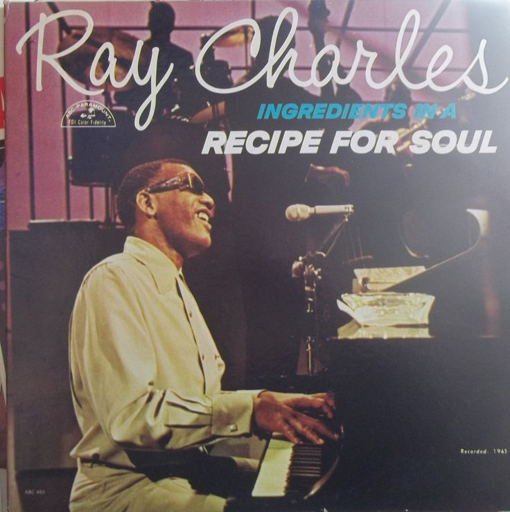 Ray Charles, Ingredients in a Recipe for Soul, Vintage Record Album, Classic Rhythm and Blues, Piano Legend, Classic Songs, Soul Music by VintageCoolRecords on Etsy