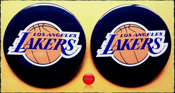 Chapas para un fan de los Lakers. #Chapó #chapaspersonalizadas #lakers