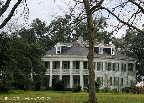 Felicity Plantation New Orleans La Southern Comfort