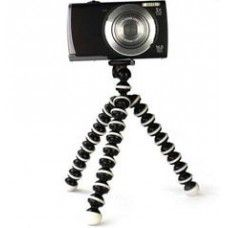 Mini fényképező állvány - fotós tripod flexibilis lábakkal - gumis talpakkal - remek fényképezős ajándék ötlet